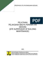 Materi Diklat-Utilitas Bangunan Gedung 2018