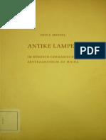 H. Menzel_Antike Lampen