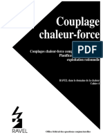 RAVEL Cahier 4 Couplage Chaleur-Force 358F 1995