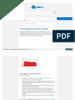 Pme Pt Registar Marca Online