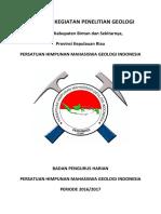 Proposal Kegiatan Dan Pengajuan Dana Penelitian