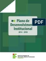 Plano de Desenvolvimento Institucional Iffar