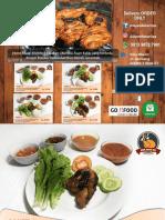 Menu Paket Ayam Bakar Opa Khas Gorontalo, Ayam Bakar Enak, Ayam Bakar Spesial