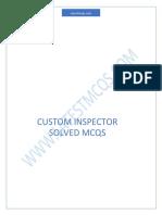 custom inspector mcqs.pdf
