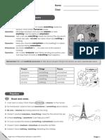 HF6 Grammar Booster Worksheets