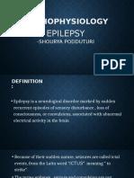 Epilepsy pathophysiology