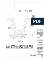 1.2 Main Station Grouted Riprap-layout