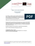 A Sassenfeld Afecto Vinculo Desarrollo Self CeIR V5N2
