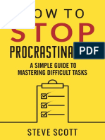 How to Stop Procrastinating_ A Simple Guid - S.J. Scott.pdf