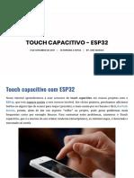 Touch Capacitivo - ESP32