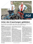 Botschaft 11. Juli 2018 - VC Leibstadt - Unter den Erwartungen geblieben