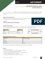 Ad Notam RS232 Protocol DFU Copy 2