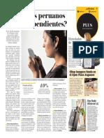 Somos Los Peruanos Phone-Dependientes