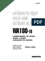 Catálogo de Peças WA-180