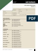 Td Dfu v2-Xx Rs232 Hex Protocol