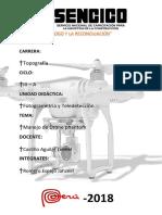Drones Fotogrametria