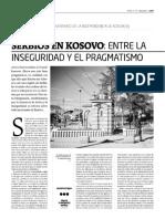 Serbios en Kosovo, entre la inseguridad y el pragmatismo