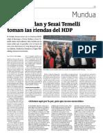 Pervin Buldan y Sezai Temelli toman las riendas del HDP