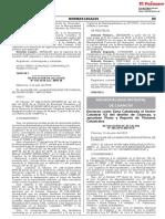 Declaran como Zona Catastrada el Sector Catastral 02 del distrito de Chancay y aprueban Plano y Reporte de Titulares Catastrales