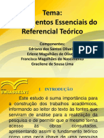 SLID- Os Elementos Do Referencial Teórico