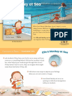 Ella and Monkey at Sea Teacher Tip Card