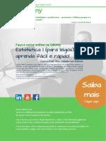 "Curso online de ""Estatística para leigos"" - Prof Msc Uanderson Rebula"