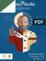 Corteo San Nicola 2018 Brochure