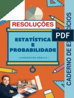 Livro pdf - Estatistica e probabilidade (exercícios resolvidos) - Prof MSc Uanderson Rebula