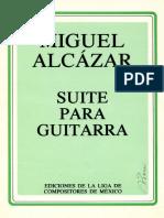 Alcazar_suite Para Guitarra