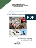 Informe Monitoreo Biológico 05-2013