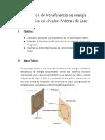 Simulación de Transferencia de Energía Inalámbrica en Circular