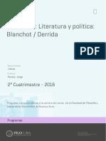 Uba Ffyl p 2016 Let Seminario Literatura y Política Blanchot-Derrida