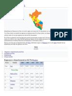 Pobreza en El Perú