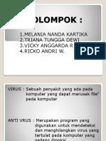 Anti Virus.. Gaktaunamanya