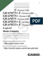 Graph35 e Soft v210 Fr