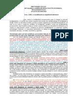 16 Precederi Legale Detaşare in Interesul Invatamantului
