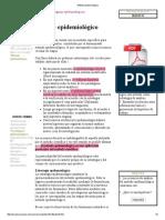 CHILE Método epidemiológico
