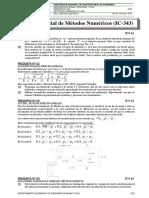 Examen Metodos Numericos 2013