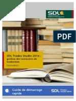 Translation Memory Management QSG Fr