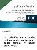 Vicente de Paula Faleiros Poder Polc3adtica y Familia