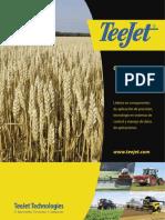Catalogo de boquillas para aspersiones en agricultura