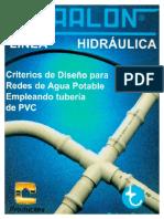 Criterios de diseño para redes de agua potable empleando tubería de PVC.pdf