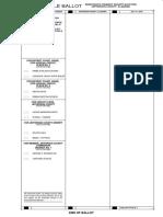 Sample Ballot - Democratic - Jefferson County - 2018 Runoff