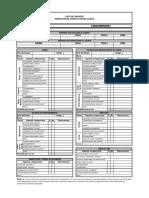 Lista de Chequeo SPAC
