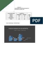 Casos de Dengue en la ciudad de Chepén año 2017