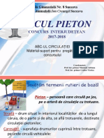 Micul Pieton - ABC-ul Circulației