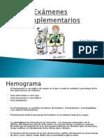 presentacion examenes complementarios