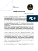 2018-04-23 SPANISH PRESS RELEASE - UNS DEPUTY ACQUITTED OF FRAUD CHARGES
