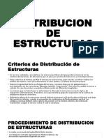 Distribucion de Estructuras