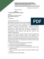 Surat Edaran Pemuktahiran Izin Operasional Pesantren